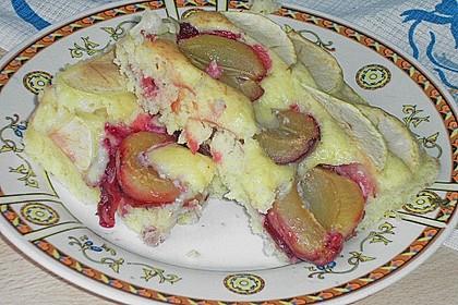 Buttermilch - Pflaumenkuchen 5
