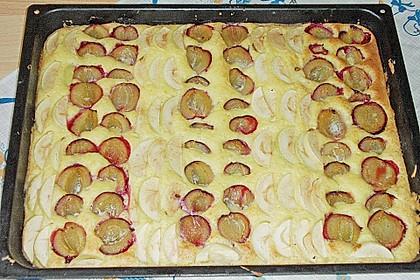 Buttermilch - Pflaumenkuchen