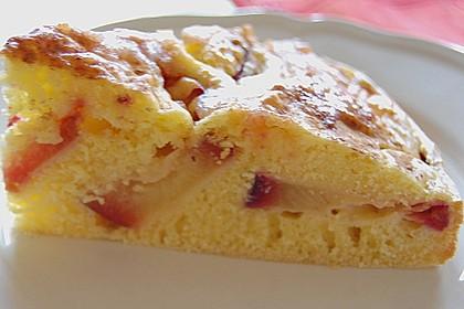 Buttermilch - Pflaumenkuchen 3
