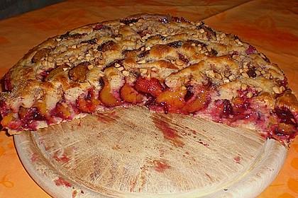 Buttermilch - Pflaumenkuchen 1