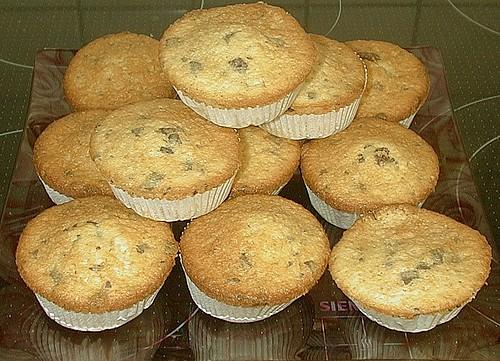 muffins mit kakao und schokost ckchen rezept mit bild. Black Bedroom Furniture Sets. Home Design Ideas