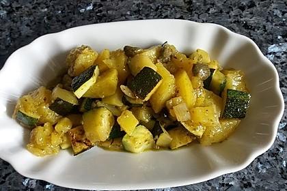 Illes warmer Zucchini-Kartoffelsalat - sommerlich leicht und einfach 2