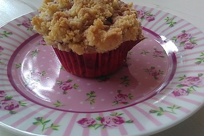 Himbeer - Muffins mit Streuseln