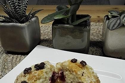 Himbeer - Muffins mit Streuseln 14