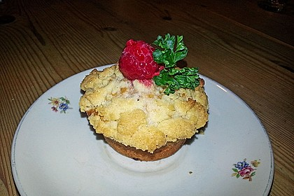Himbeer - Muffins mit Streuseln 15