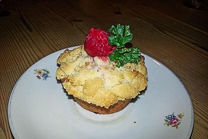 Himbeer - Muffins mit Streuseln 18