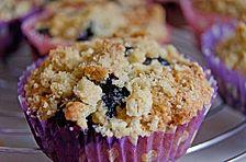 Himbeer - Muffins mit Streuseln