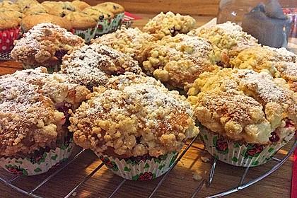 Himbeer - Muffins mit Streuseln 7