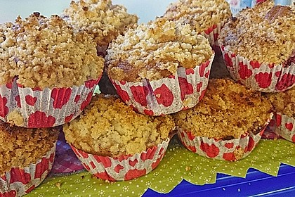 Himbeer - Muffins mit Streuseln 46