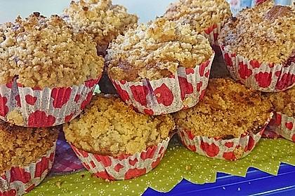 Himbeer - Muffins mit Streuseln 49