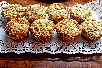 Himbeer - Muffins mit Streuseln 21