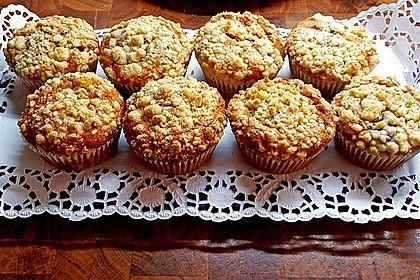 Himbeer - Muffins mit Streuseln 25