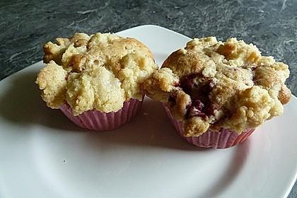Himbeer - Muffins mit Streuseln 38