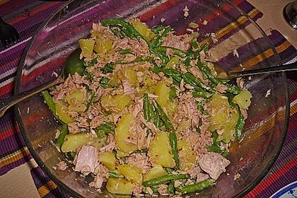 Thunfischsalat mit Kartoffeln und Bohnen 1