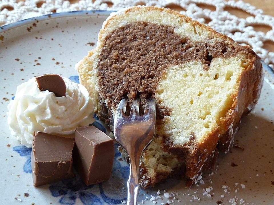 Nougat - Marmorkuchen
