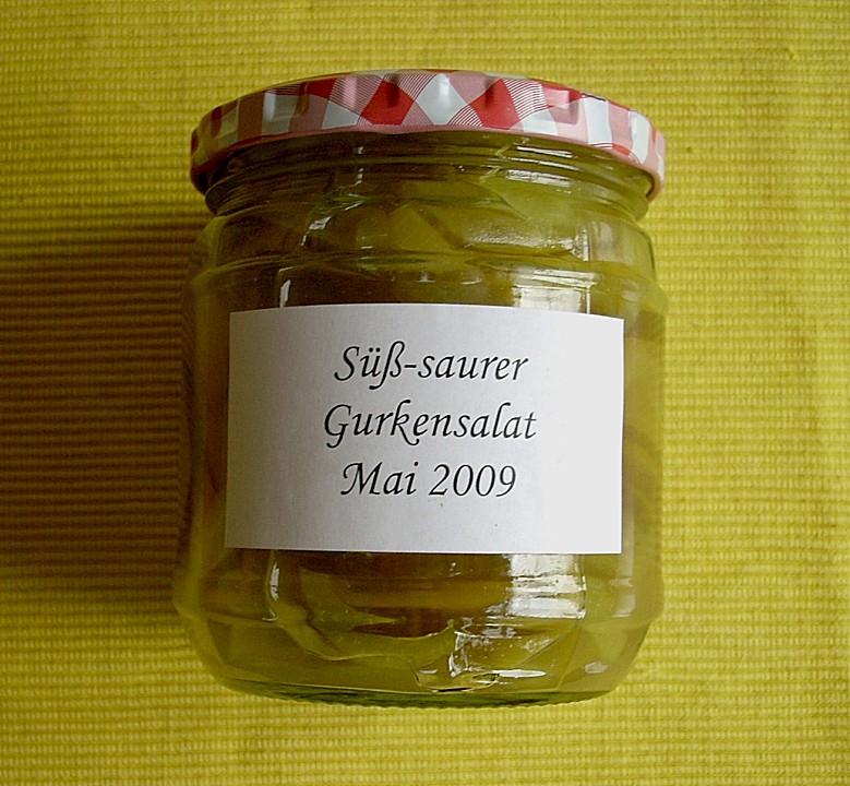 Suss Saurer Gurken Paprika Salat Von Kochnudel84 Chefkoch De