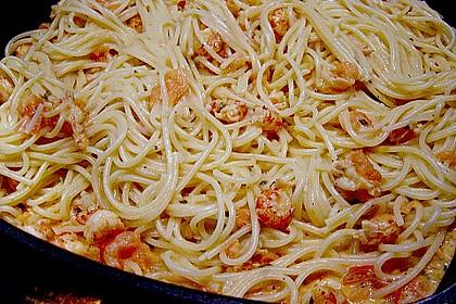 Bärlauch - Pasta mit Flusskrebsen 3