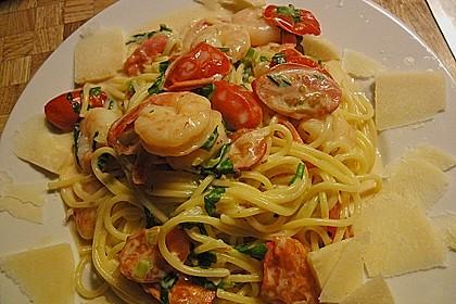 Bärlauch - Pasta mit Flusskrebsen 2
