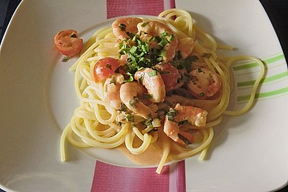 Bärlauch - Pasta mit Flusskrebsen 1