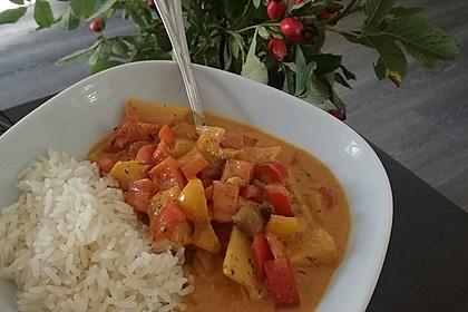 Einfaches, vegetarisches Curry 12