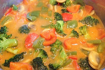 Einfaches, vegetarisches Curry 11