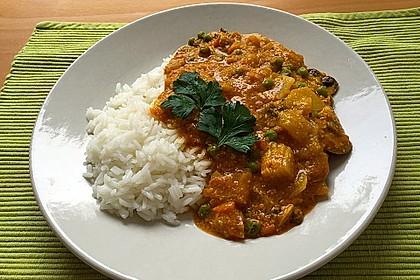 Einfaches, vegetarisches Curry 5