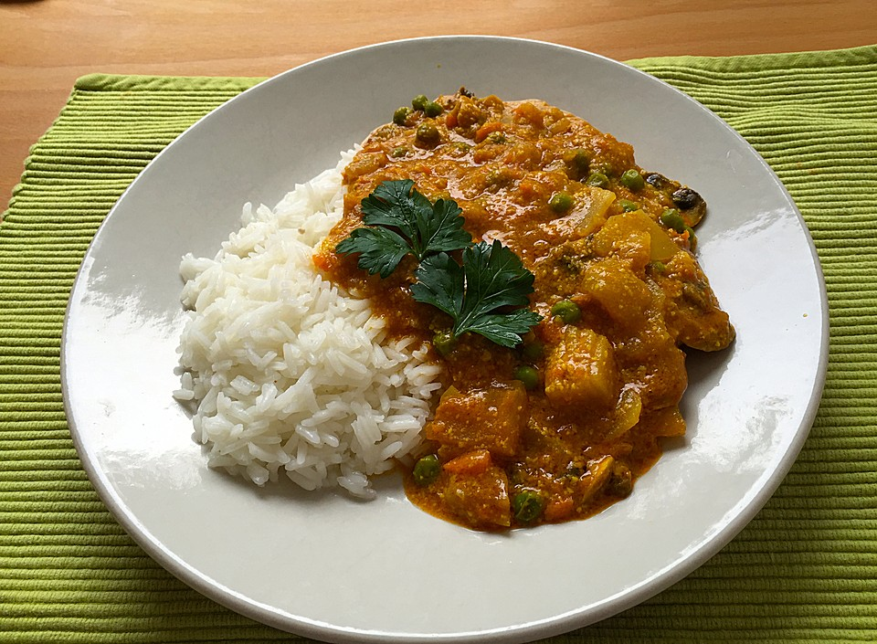 Einfaches, vegetarisches Curry von SarahP | Chefkoch.de