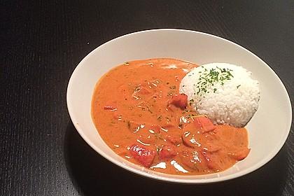 Einfaches, vegetarisches Curry 2