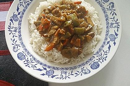 Einfaches, vegetarisches Curry 3
