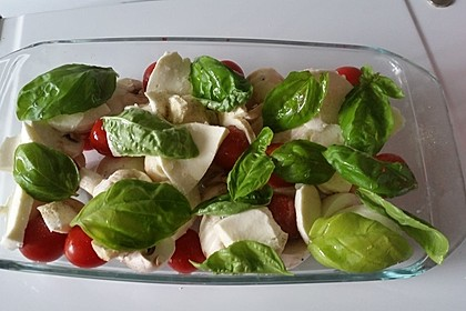 Schnelle Champignon - Tomaten