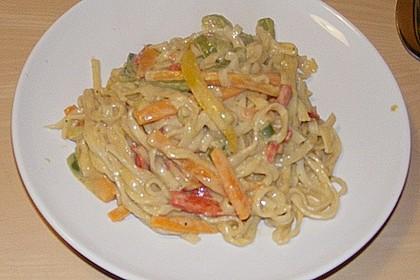 Asiatische Kokos - Curry - Gemüse - Pfanne 8