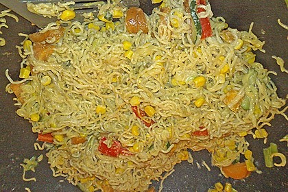 Asiatische Kokos - Curry - Gemüse - Pfanne 5