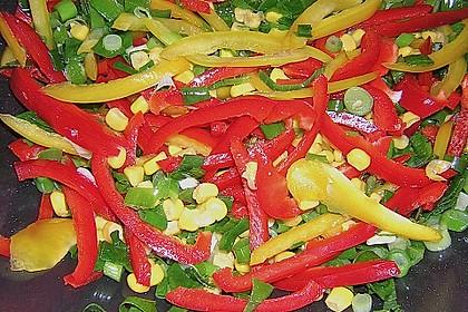 Asiatische Kokos - Curry - Gemüse - Pfanne 4