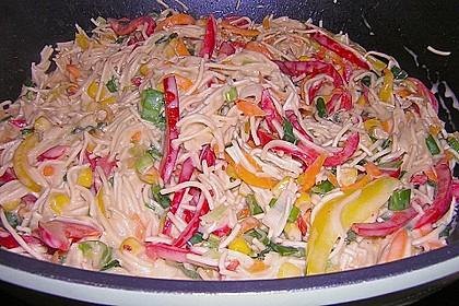Asiatische Kokos - Curry - Gemüse - Pfanne 1