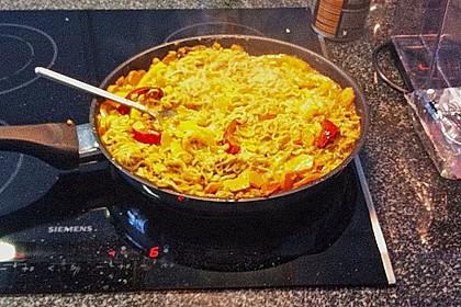 Asiatische Kokos - Curry - Gemüse - Pfanne 6