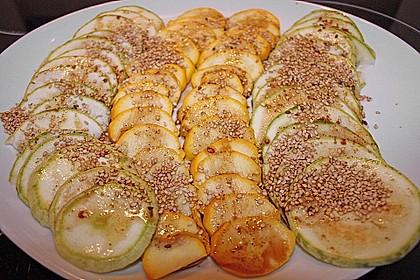 Zucchini - Carpaccio 2