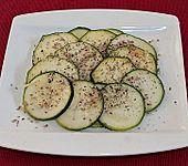Zucchini - Carpaccio