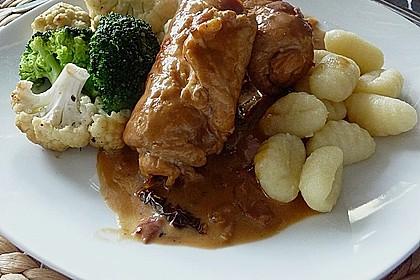 Gebratener grüner Spargel mit Schweinefleisch - Röllchen 2