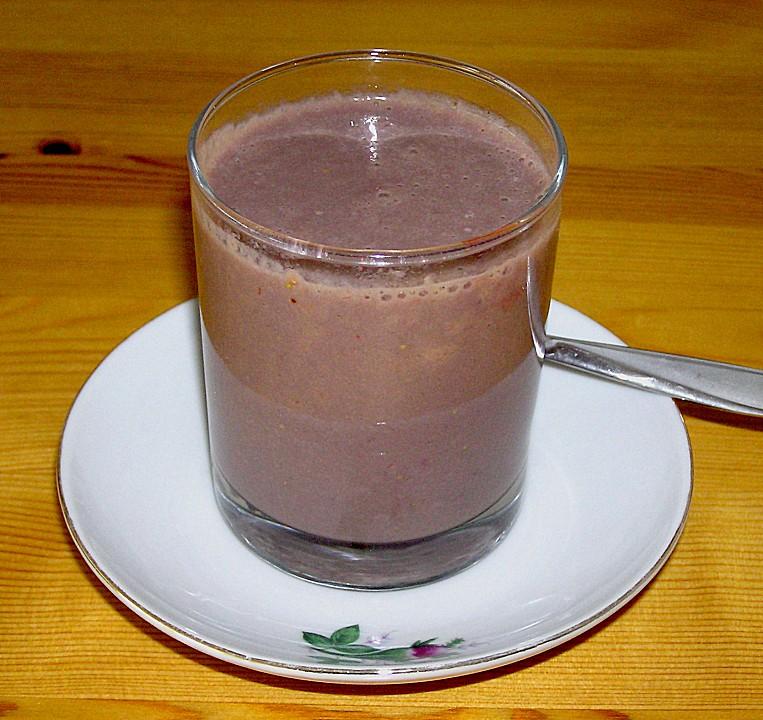 schoko erdbeer smoothie rezept mit bild von msmuffin. Black Bedroom Furniture Sets. Home Design Ideas