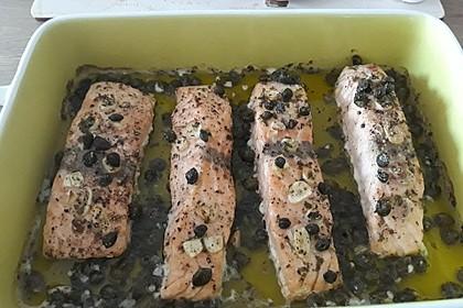 Lachs aus dem Backofen 19