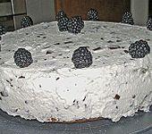 Brombeer - Stracciatella - Torte (Bild)