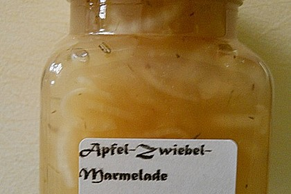 Apfel - Zwiebel - Konfitüre 14