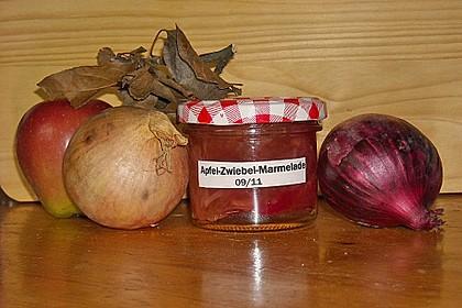 Apfel - Zwiebel - Konfitüre