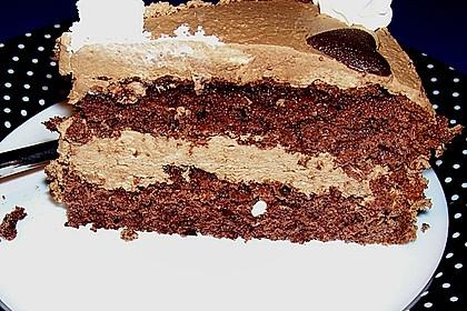 kleine schokoladen kaffeecreme torte rezept mit bild. Black Bedroom Furniture Sets. Home Design Ideas