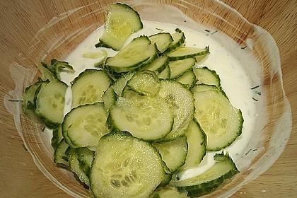 Gurkensalat 9