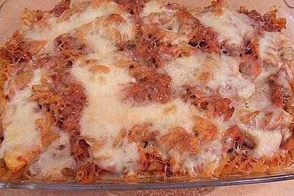 Julies Nudel - Gemüse - Tomaten - Auflauf 20