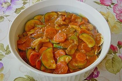 Julies Nudel - Gemüse - Tomaten - Auflauf 14