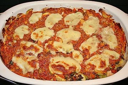 Julies Nudel - Gemüse - Tomaten - Auflauf 4