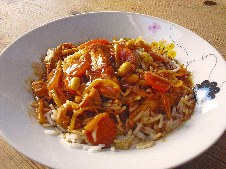 China - Wok - Gericht mit Huhn von Balatoni | Chefkoch.de
