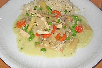 Hühnerfrikassee 1